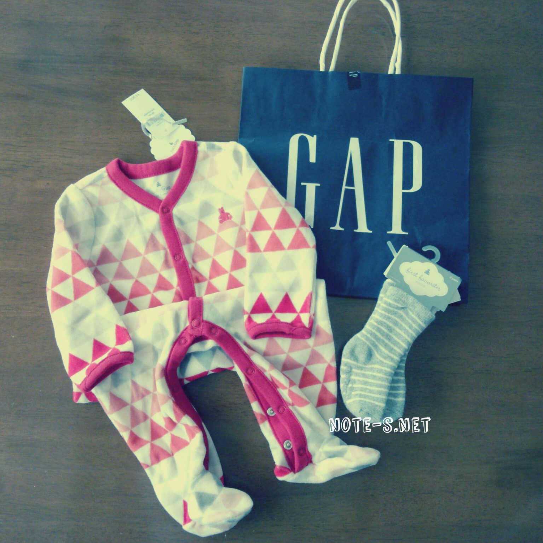 GAPのベビー服が30%OFF!冬服買い増しました!