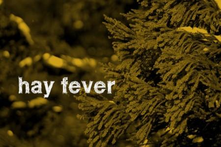 暖冬だから早めに花粉症対策。赤ちゃんにも対策が必要。