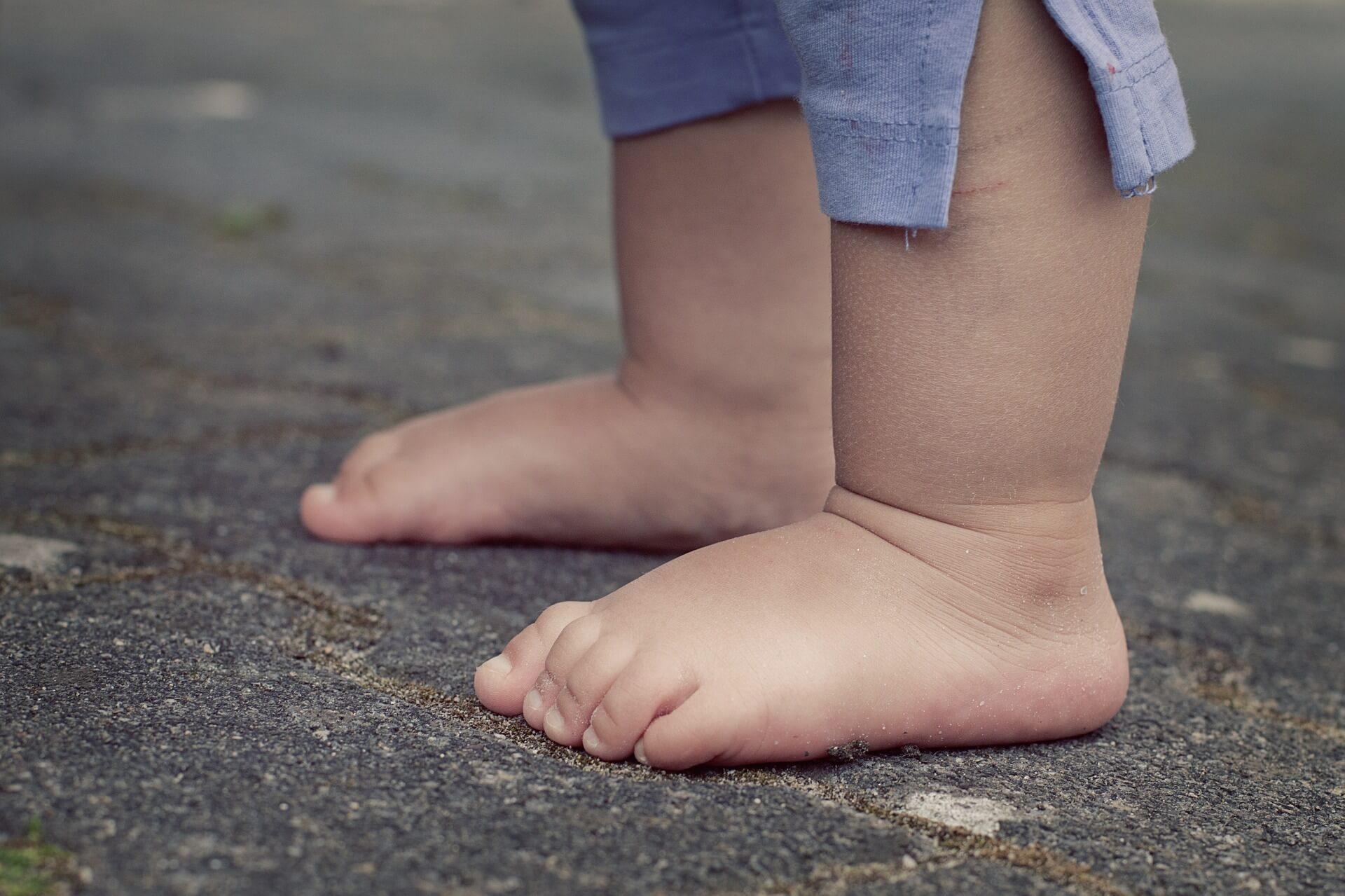 歩きはじめ1歳3ヶ月児の運動と歩数