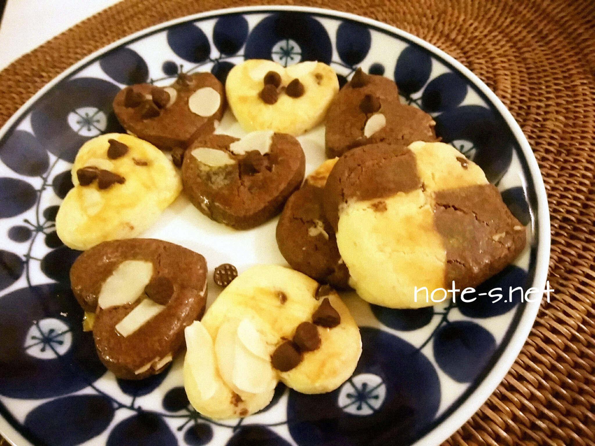 バレンタインチョコクッキー<無印キット活用>を2歳半娘とつくる